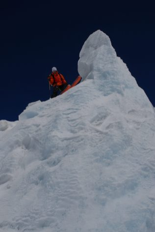 Glacier de toule ski freeride jeremy janody
