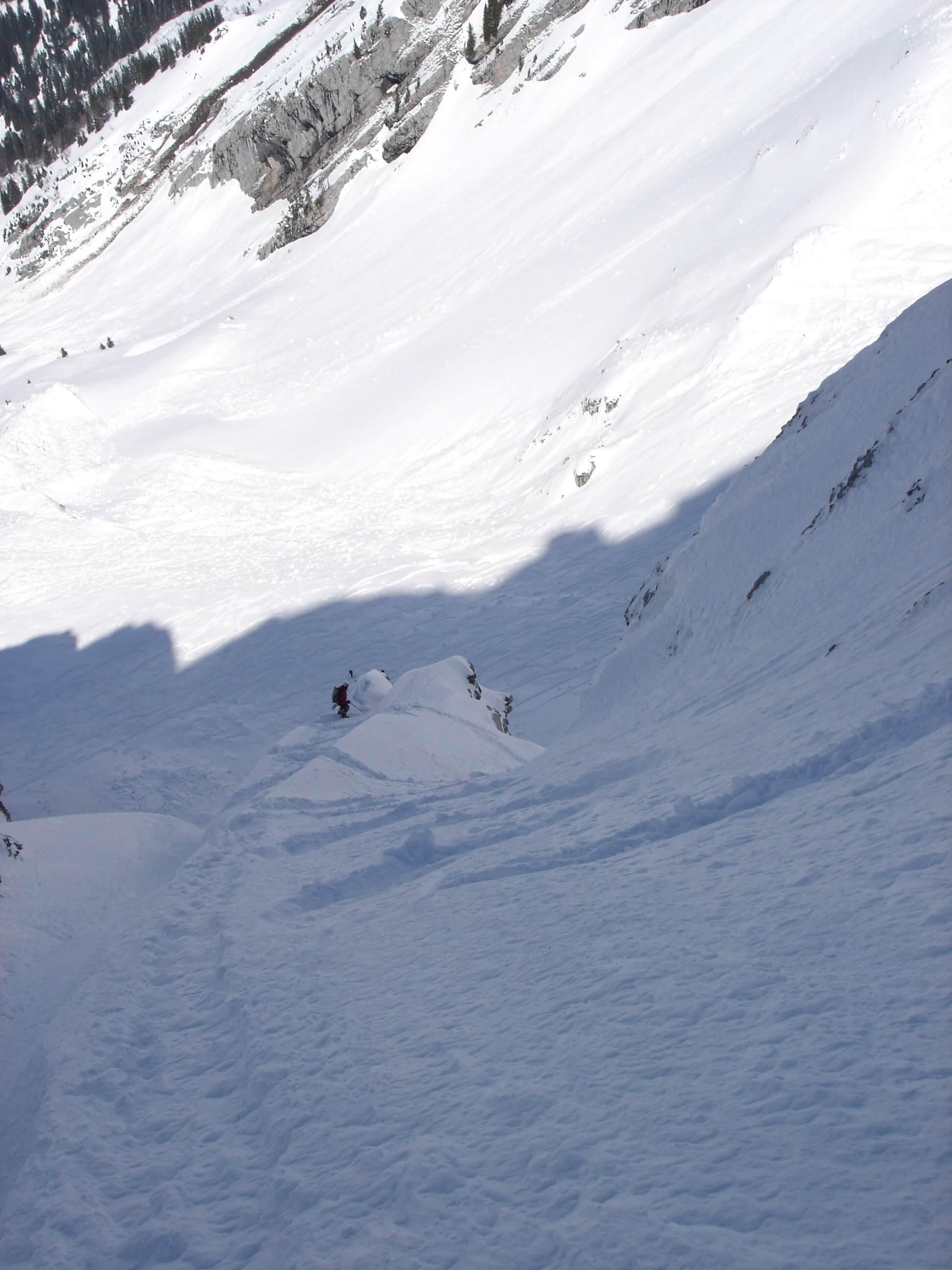 Face Nord du Paré de Joux en ski Jeremy Janody