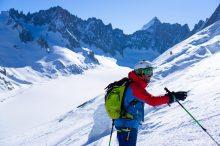 Col des cristaux ski2