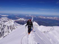 Au sommet du Mt Blanc