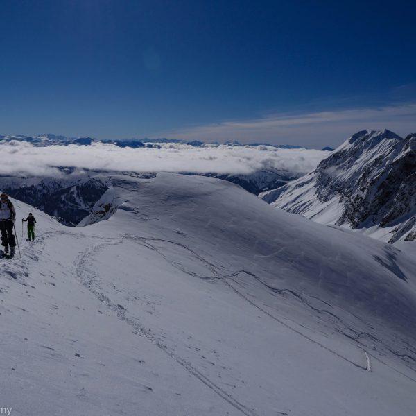 Ski de randonnée à L'Ambrevettaz-Aravis