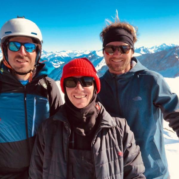Ski de rando au Trélod