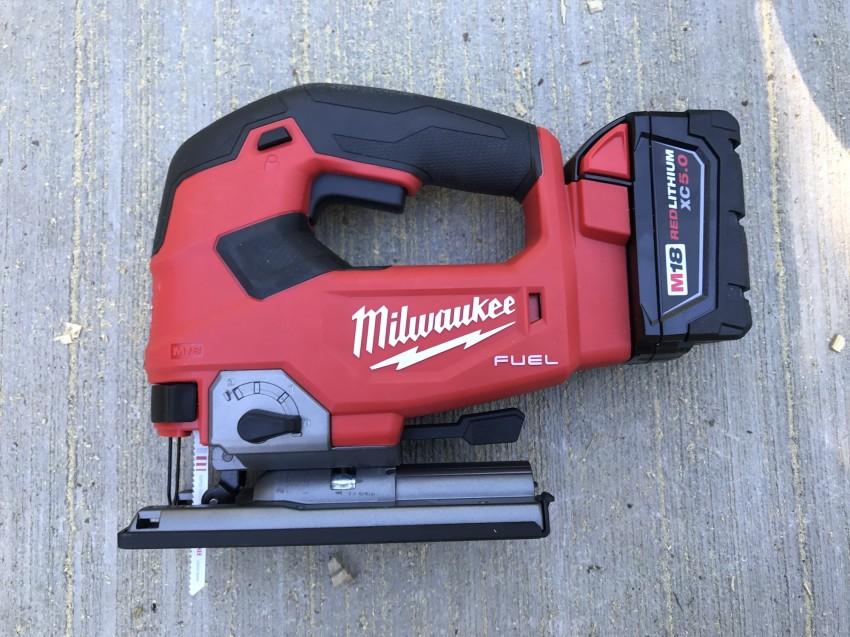 Milwaukee Barrel Grip Jigsaw