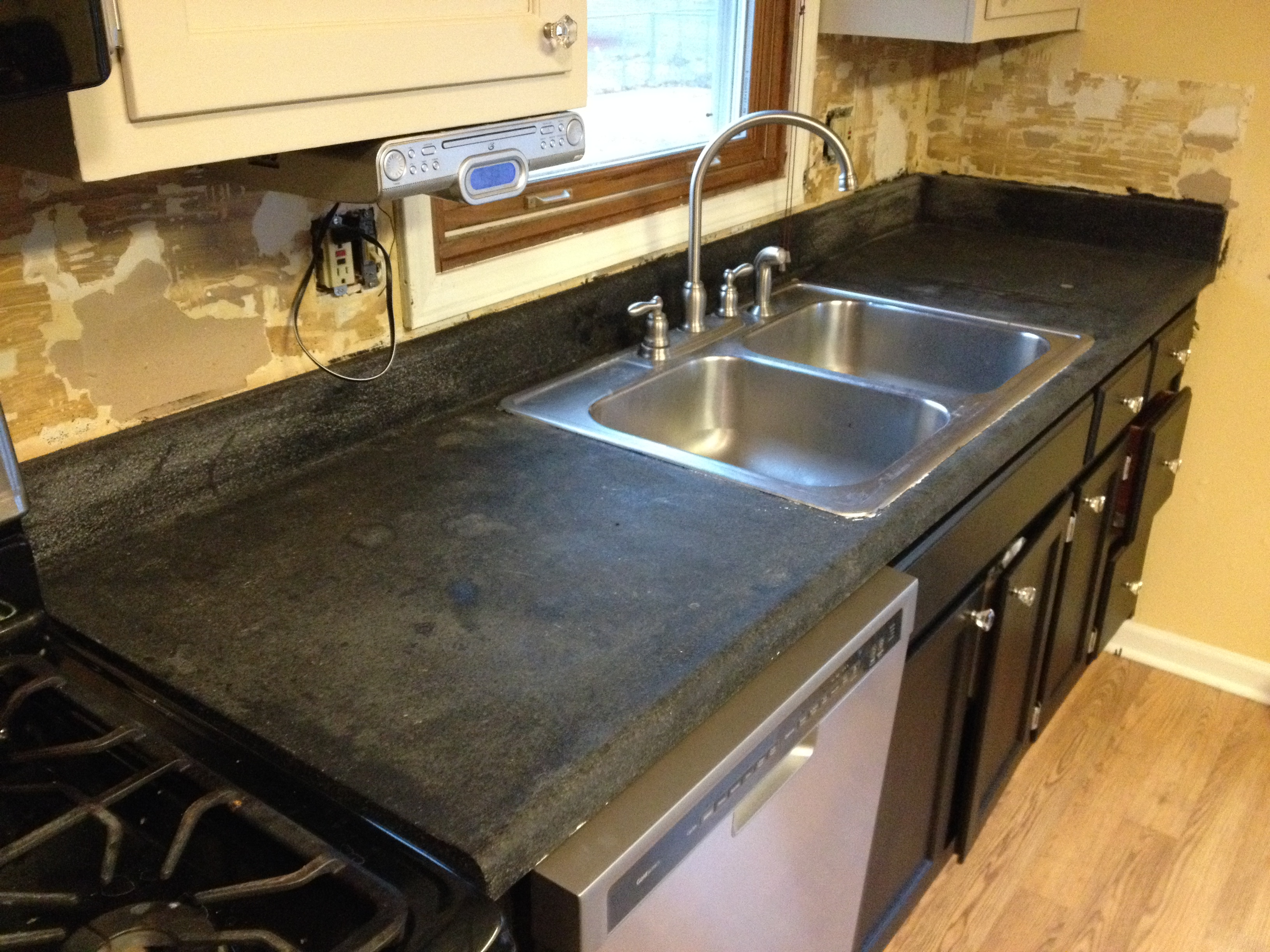 replacing a kitchen sink lights fixtures counter top and replacement  bryan ohio