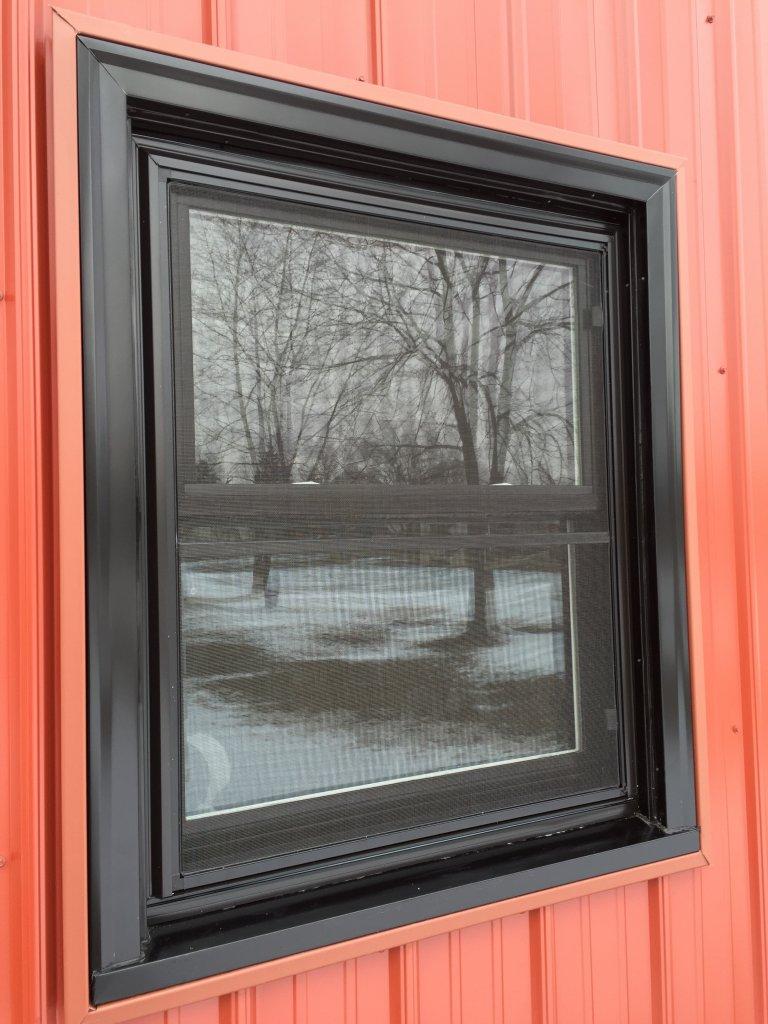 Jeld Wen Vinyl Replacement Window Installation  Sherwood Ohio  JeremyKrillcom