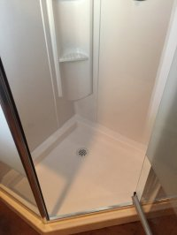 Corner Shower Installation  Hamilton | JeremyKrill.com