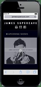 Portfolio - James Supercave - Mobile