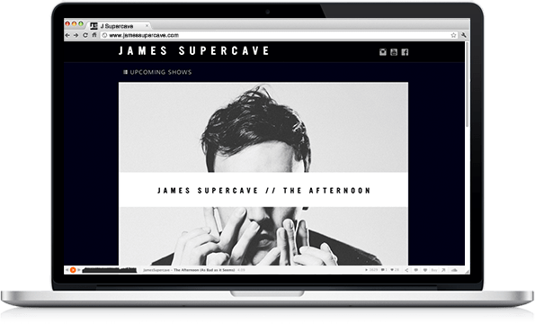 Portfolio - James Supercave - Web Design
