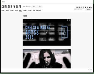 Portfolio - Chelsea Wolfe - Abyss