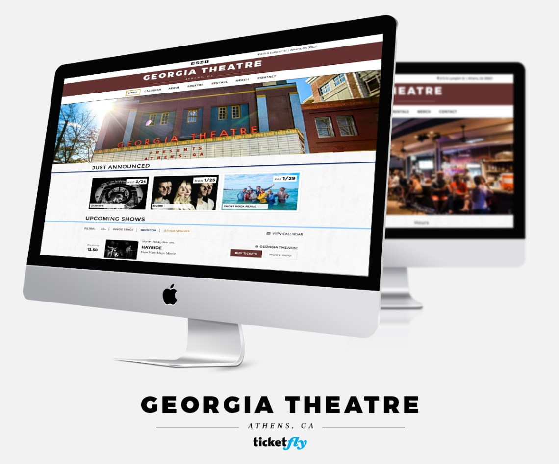 Schuler - Portfolio - Georgia Theatre - Music Venue