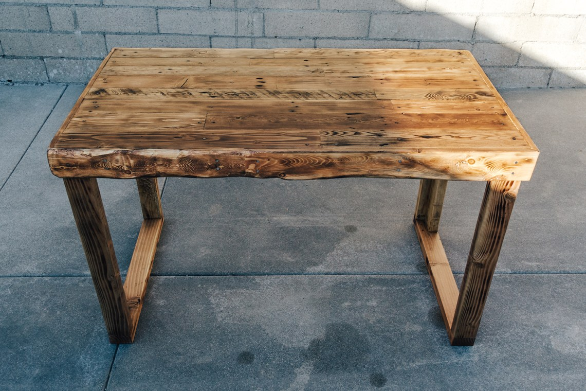 The Build Collective - Pallet Desk Build