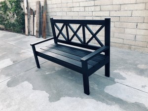 Jeremy Schuler - Woodworking - Farm House Porch Bench