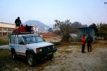 Jeep from Kathmandu to Chame