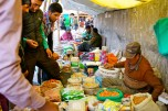 The Local Barter Trade in Leh where expeditions can do a last minute stock up