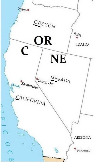 Les états Des états-unis : états, états-unis, États