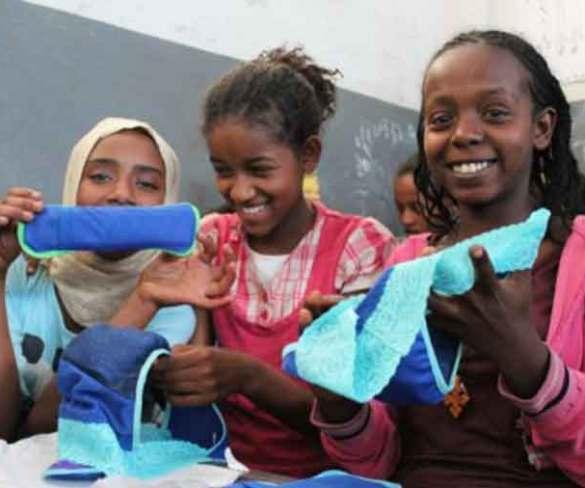 Una colombiana rompe la regla con productos para la menstruación de niñas adolescentes de escasos recursos