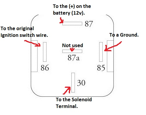 12 volt relay wiring diagram radio diagrams must do starter mod for the s30 z behind auto image