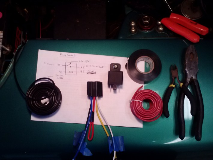 30 Amp 4 Pin Relay Wiring Diagram The Centerpiece Of This Mod Is