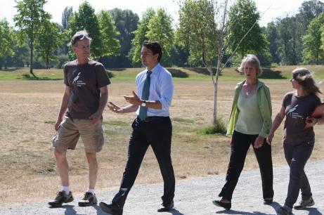 JSG hosting Justin Trudea and Joyce Murray