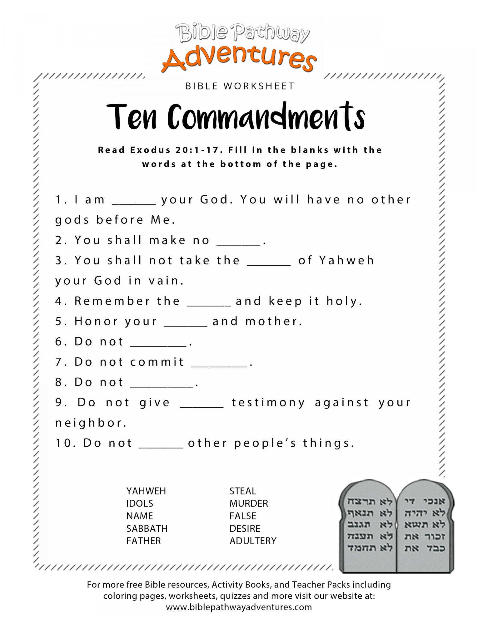 Free Printable Youth Bible Study Lessons