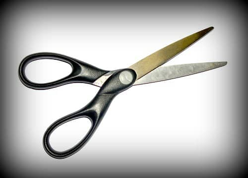Picture of Scissors Divorcing the Draft