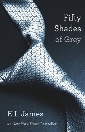Book cover of Fifty Shades of Grey by E L James