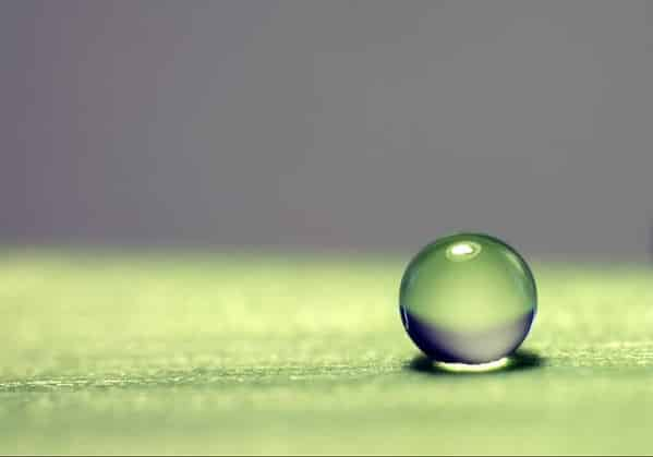 Picture of Water Drop Cost of Editing