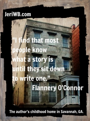 Image of Flanner O'Connor Quote