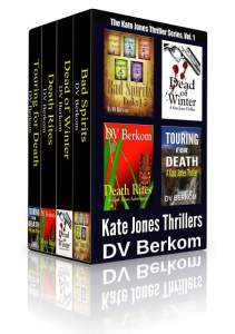 DV Berkom Kate Jones Thriller Box Set Book Covers