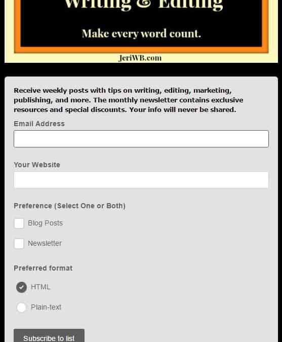 #Marketing: Newsletter Basics for Authors