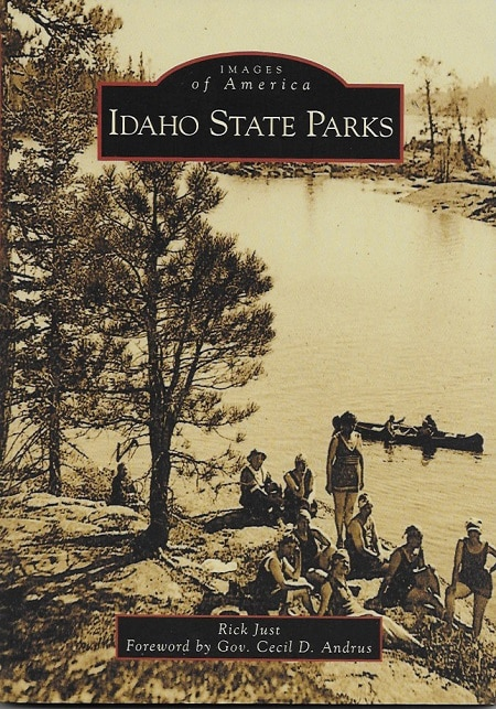 Cover of Idaho State Parks by Rick Just