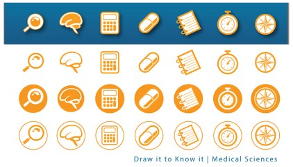 Draw it to Know it tutorial icons