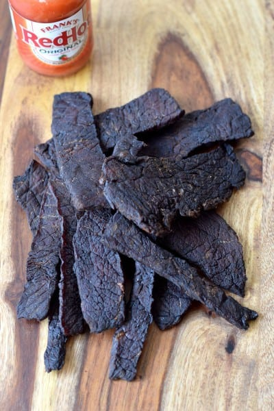 Spicy Jerky with Frank's RedHot