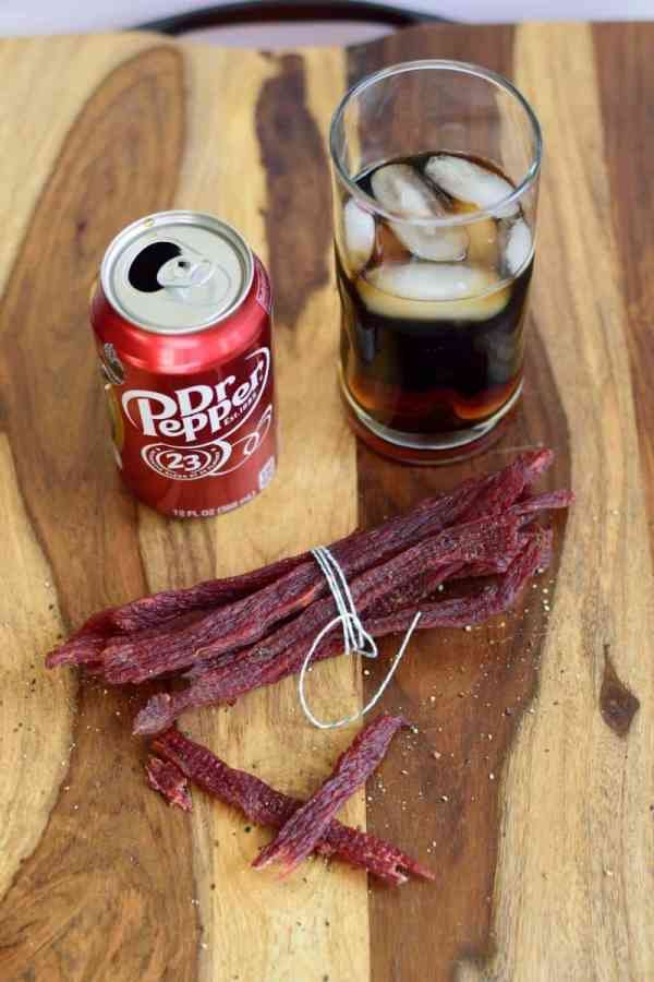 The great taste of Dr. Pepper mixed with Beef? What's not to love?!   Jerkyholic.com