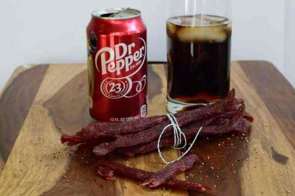 Dr. Pepper Beef Jerky Finished