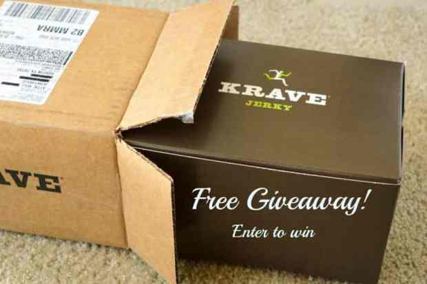 Krave Jerky Giveaway