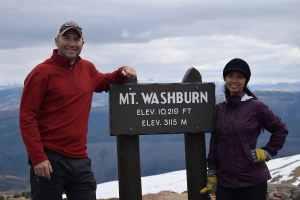 Linda and I Mt Washburn