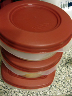 Most of my topperware is red.
