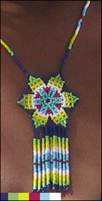 Close-up of necklace...
