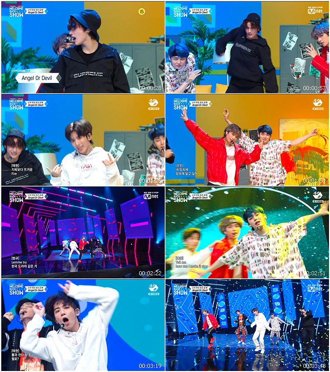 191021 Mnet TOMORROW X TOGETHER WELCOME BACK SHOW TXT - Angel or Devil