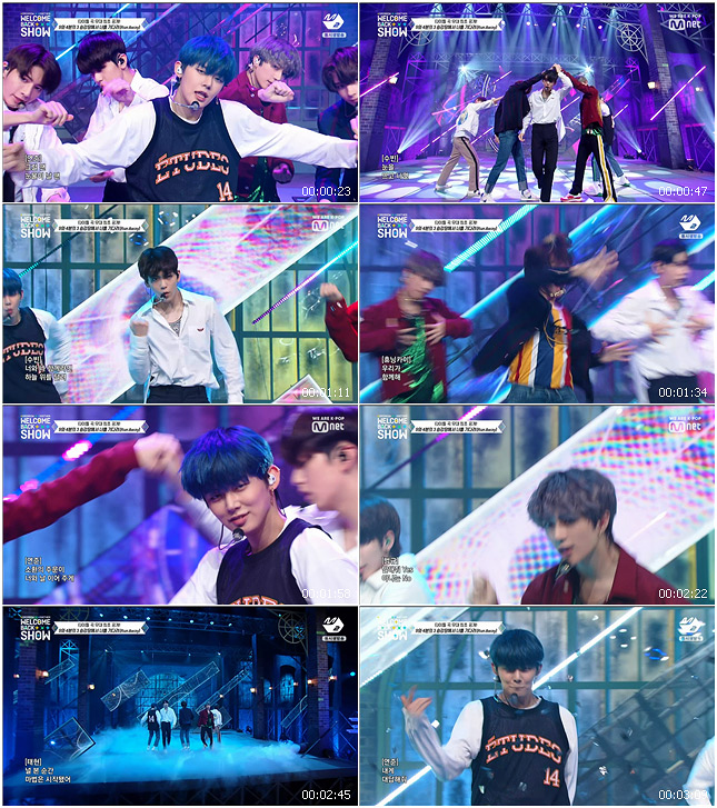 191021 Mnet TOMORROW X TOGETHER WELCOME BACK SHOW TXT - Run Away