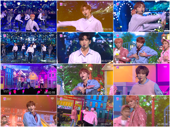 191103 SBS Inkigayo NU'EST - Stay up all night + LOVE ME