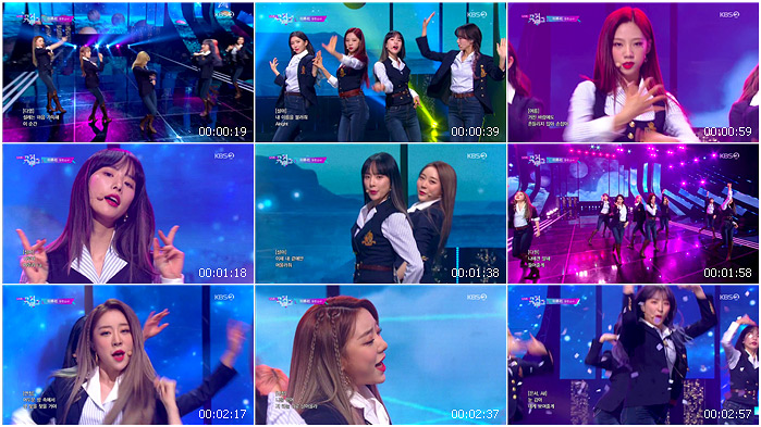 191129 KBS Music Bank WJSN - As You Wish