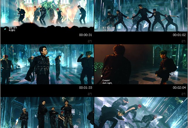 EXO 엑소 'Obsession' (EXO Ver.) @EXO THE STAGE