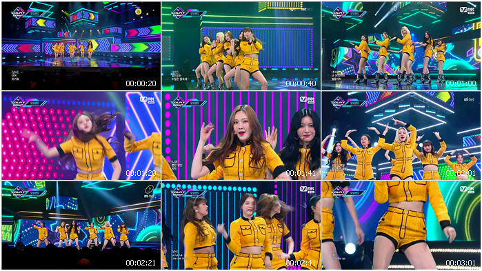 200116 Mnet M! Countdown MOMOLAND - Thumbs up