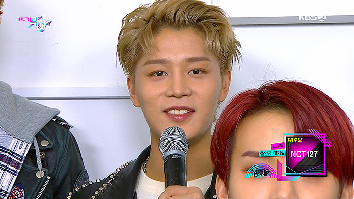 200313 KBS Music Bank NCT 127 Taeil - Waiting Room
