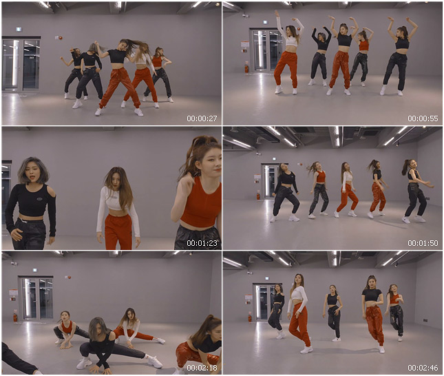 ITZY - WANNABE  Dance Practice (Moving Ver.)