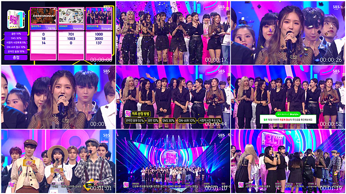 200419 SBS Inkigayo (G)I-DLE - No.1 Encore