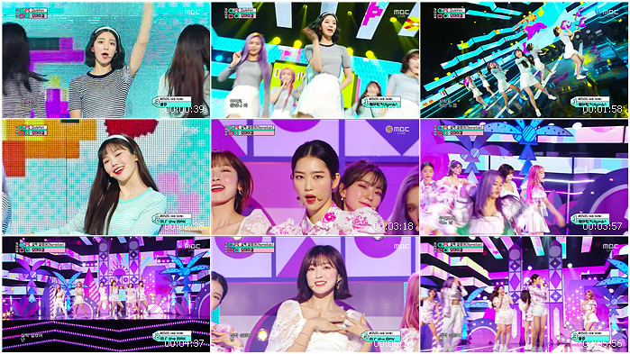 200502 MBC Music Core OH MY GIRL - Dolphin + Nonstop