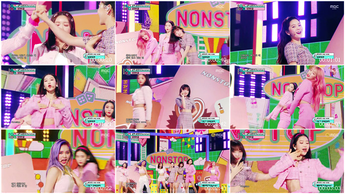 200509 MBC Music Core OH MY GIRL - Nonstop